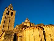 Benedictine abbey, Sant Cugat del Valles, Barcelona province, Catalonia, Spain