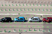 parking at the port, Bastia, corsica