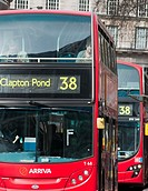 New London buses at Victoria bus station  England
