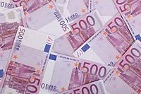 500 Euro bank notes
