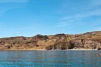 Peru, Lake Titicaca. Taquile Island.