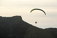 Paragliding in the Valley of Abdalajis  Malaga, Andalucia, Spain