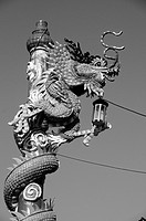 Chinese Dragon at a Temple in Hua Hin