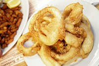 Florida, Dania Beach, Grandpa's Bakery and & Restaurant, fried onion rings