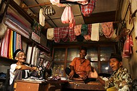 A tailor's shop at Lamno in Aceh Jaya, Indonesia July 1, 2007