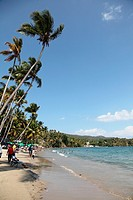 Beach in Samana, Dominican Republic
