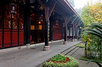 China, Chengdu, Sichuan, city, Wenshu temple monastery