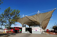 Stratford Bus Station, Stratford, London, England, UK