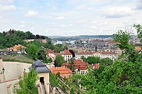 Panorama of Prague, Prague, Czech Republic, Central Europe