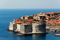 St John's Fortress and harbour, Dubrovnik, Croatia, UNESCO