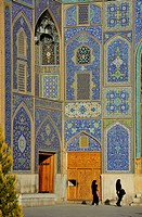 Iran, Isfahan, Sheikh Lotfollah Mosque, Door, UNESCO World Heritage list