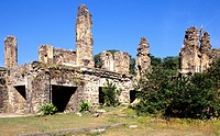 RUINS OF KONDAPALLI FORT, ANDHRA PRADESH, INDIA