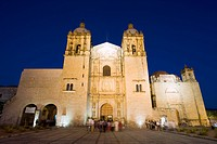 Santo Domingo church, Oaxaca, Oaxaca state, Mexico, North America