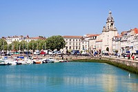 Vieux Port, the old harbour, La Rochelle, Charente_Maritime, France, Europe