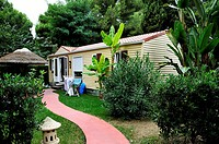 Canet-en-Roussillon, France, Camping in France, Le Brasilia, 4 Stars, Cottage near Beach, Okavango Village