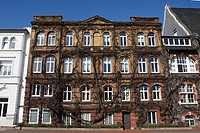 Old Building of Itzehoe, Schleswig-Holstein, Germany