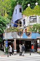 Hundertwasser House, Vienna, Republic of Austria, Österreich, Republik Österreich, Central Europe