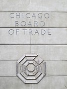 The Chicago Board of Trade logo  In 1980, the owners added a 275 ft 84 m 23-story expansion to the south side of the building  It was topped by an oct...