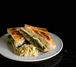 Vegetable, sandwich, Vegetarian,
