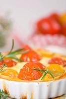 Tomatentarte hoch