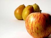 Apfel mit Birnen
