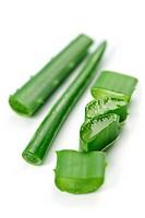 Aloe vera plant pieces