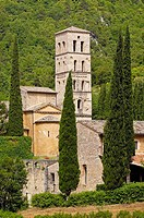 San pietro in Valle, Abbey, Ferentillo, Valnerina, Terni, Umbria, Italy, Europe.
