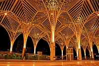 Oriente Station, 1998, arq Santiago Calatrava, Nations Park, Lisbon, Portugal