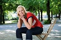 A Scandinavian woman, Stockholm, Sweden.