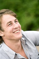 A smiling Scandinavian man.