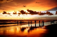 The world´s longest stretch of uninterrupted beach has made Cox´s Bazar, a popular tourist spot Bangladesh