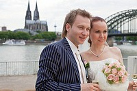 wedding couple in cologne