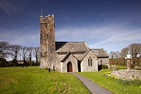 Church of St Michael and All Saints, Bosherton, Pembrikeshire, Wales, UK