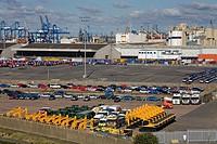 Port of Tilbury, Essex, England, United Kingdom, Europe