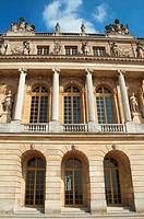 Versailles Garden Facade North Wing Section