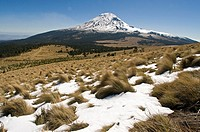 Popocatepetl volcano view