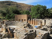 The Roman Odeion Theatre, Ancient Site of Gortyn, Crete, Greece