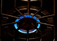Stove Top Gas Flame