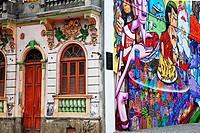Street art , Lapa, Rio de Janeiro,Brazil