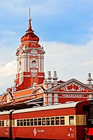 Mariana railway station , Mariana, Minas Gerais state, Brazil, South America