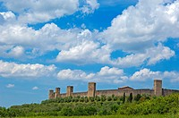 Monteriggioni, Siena Province, Tuscany, Italy