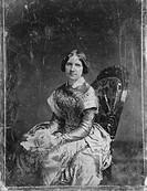 JENNY LIND (1820-1887)Swedish soprano singer. Daguerreotype, 1850, by Mathew Brady.