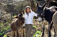 Donkey trek in the Cevennes
