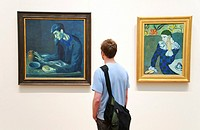 Metropolitan Museum of Art, New York City, Pablo Picasso paintings, 19th-20th Century gallery