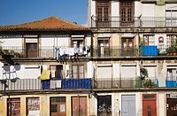 a residential apartment building, porto, portugal