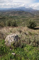 landscape near Mycenae