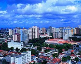 Aerial view, urban city, Belém do Pará, Pará, Brazil