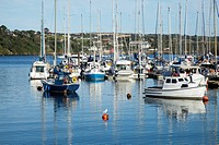 Boats In The Harbor, Kinsale, County Cork, Ireland