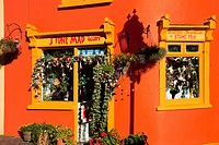 A Shop In A Orange Building, Kinsale, County Cork, Ireland