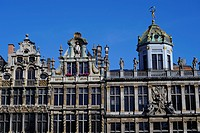 Guildhalls, Brussels, Belgium, Grand, Place,